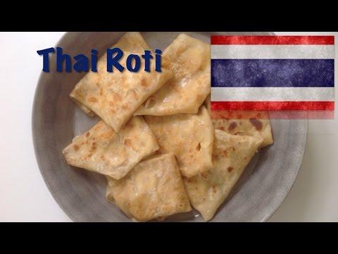 how to make thai roti dough