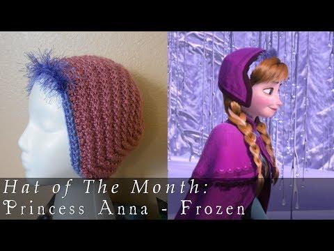Hat of The Month   Jan. 2014   Frozen - Anna