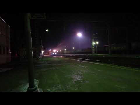 Прибытия на станцию Невинномысск ЭП20 со скорым Фирменным пассажирским поездом 4 Москва-Кисловодск