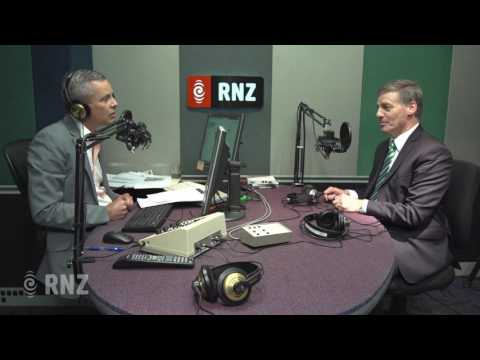 Prime Minister Bill English on Morning Report, May 15th 2017