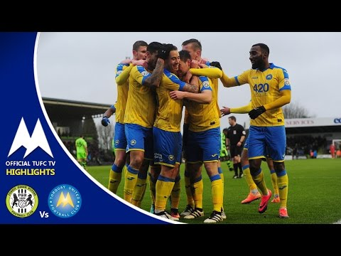 Official TUFC TV - Forest Green Rovers Vs Torquay United 01/01/17