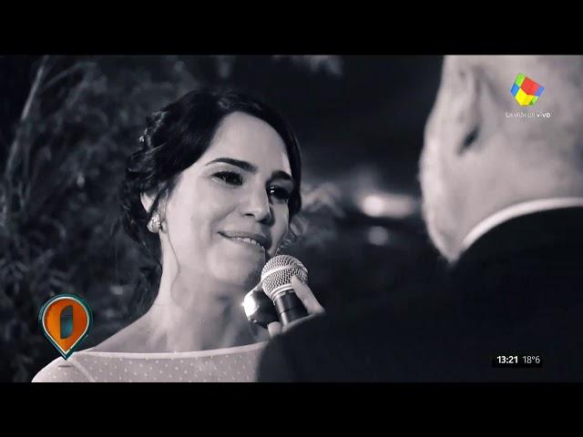 ¡Así fue el gran casamiento del año! La felicidad de Jorge Rial y Romina