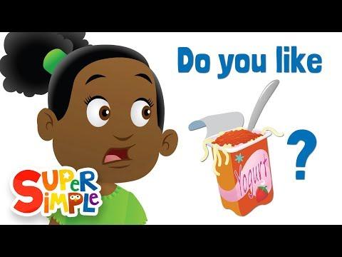 do-you-like-spaghetti-yogurt?-|-super-simple-songs