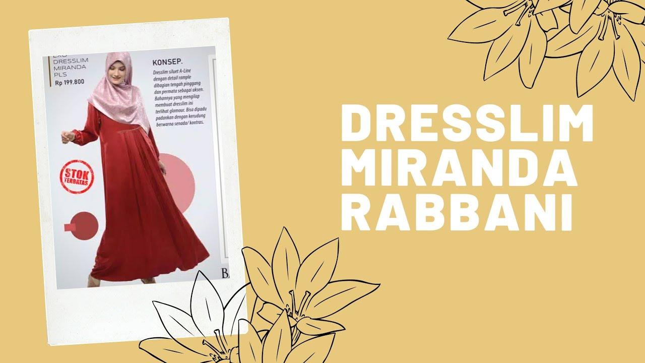 Gamis Rabbani Terbaru Dresslim Miranda Pls Youtube