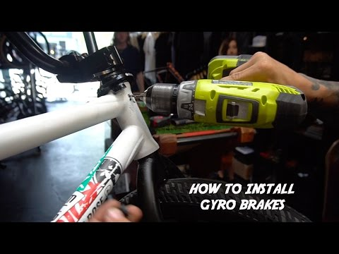 HOW TO DRILL AND THREAD YOUR GYRO!