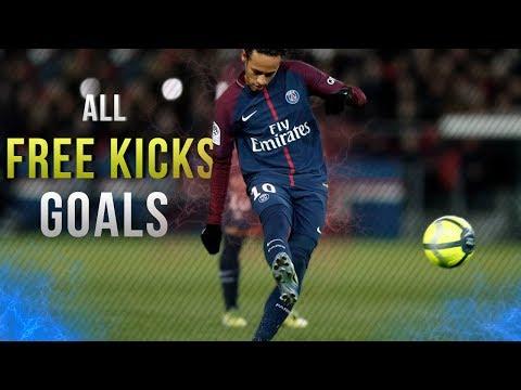 Neymar Jr - ALL 20 FREE KICKS Goals In Career | 2011 - 2018 | HD