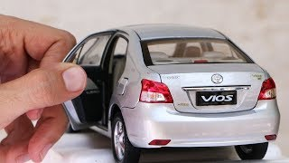 Unboxing of Toyota VIOS | Toyota Belta | Yaris Sedan 1:18 Scale Diecast Model Car thumbnail
