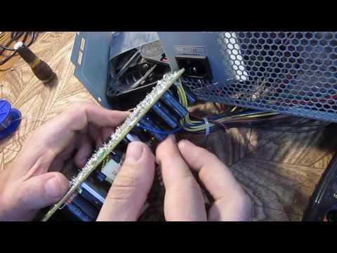 Qdion Qd400 Ремонт  Включается вентелятор начитает крутиться и уходит в защитуостанавливается