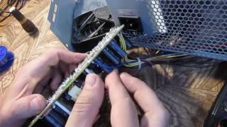qdion qd400 Жөндеу Қосылады вентелятор начитает крутиться және кетеді защитуостанавливается