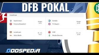 DFB POKAL VIERTELFINALE ⚽️ Prognose und Tipps 2019 / 2020