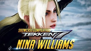 Download Video TEKKEN 7 Nina Williams Story Outfit Showcase Collection - Intro / Win Poses / Rage Art / CutScenes MP3 3GP MP4