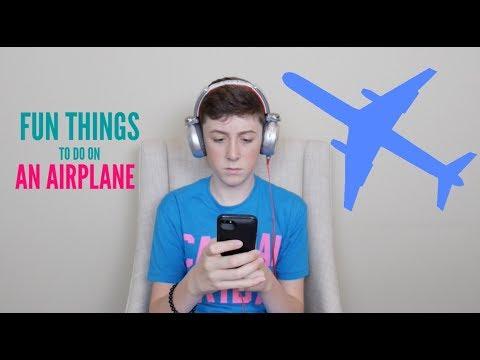 Fun Things To Do On An Airplane | TREVOR MORAN