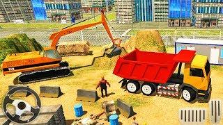 Heavy Construction Building: Truck Excavator Simulator - Andro…
