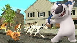 2#Симулятор Собаки Онлайн. все обижают нашу маленькую  собачку