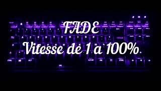 Blacklight effect for the new keyboard mini streak (Fnatic) !!!!!