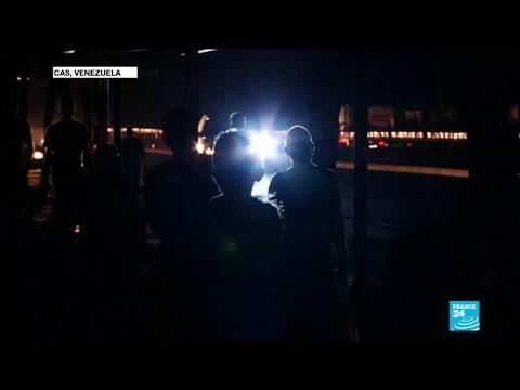 Power shortage plunges Venezuela in darkness