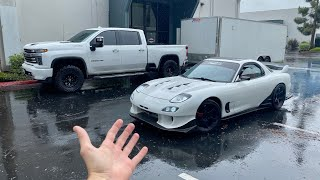 homepage tile video photo for My Rx-7 is Leaving...and Goodbye Accuair