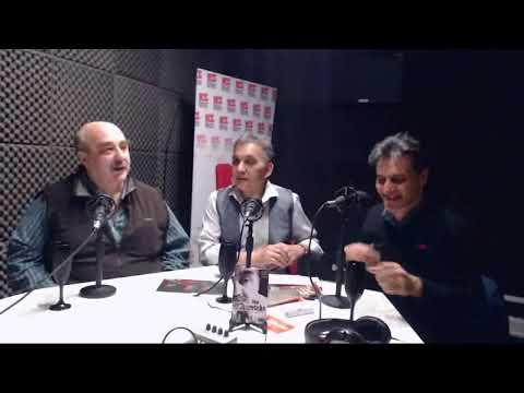 """""""Mano a mano con Monserrat"""" con Juan Carrasco y Enrique Papatino."""