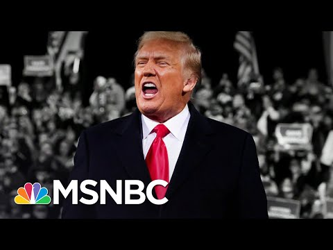Trump Brags He's Working Hard On Election Attacks (Not Covid-19) | The 11th Hour | MSNBC