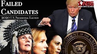 Failed Candidates | The 2020 US Presidential Election | Democrats - Warren - Harris - Gillibrand