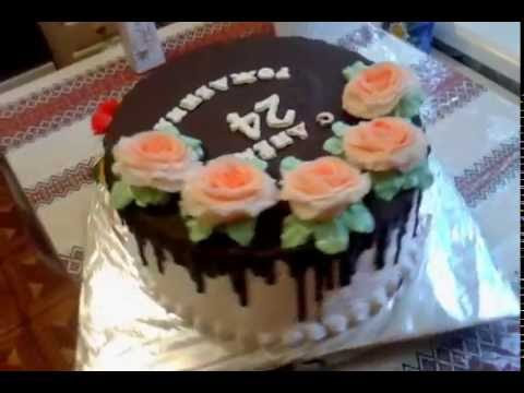 торт с профитролями  Шоколадный Герман
