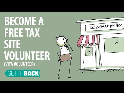 Become A Free Tax Site Volunteer (VITA Volunteer)