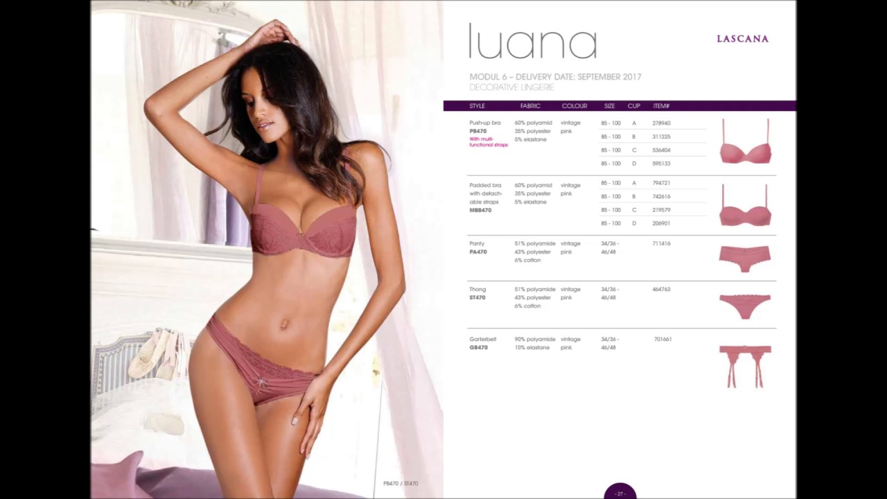 Lascana 2017 Autumn Winter Lingerie Collection Catalog - YouTube 086e844a4