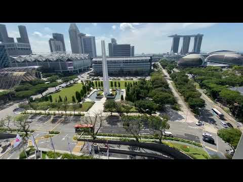 Singapore Cityscape from Swissotel