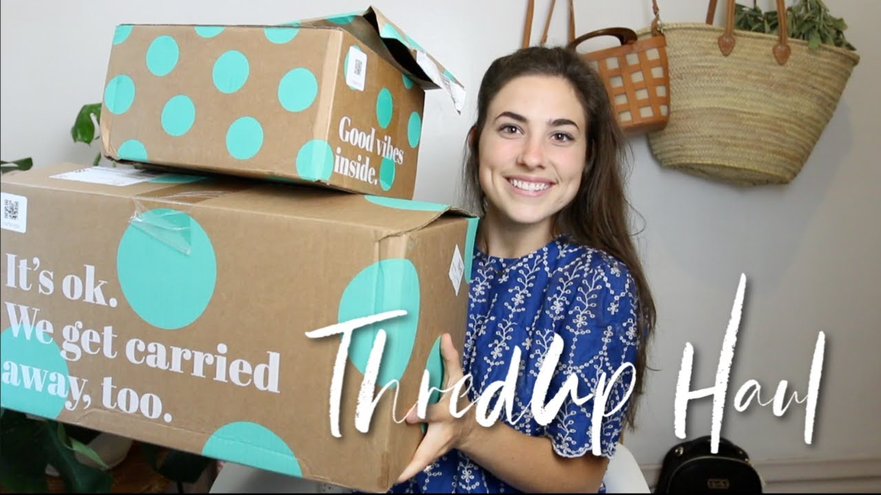 ThredUp Haul + Try-On!! | Fall Outfit Ideas! (Zara, Topshop, Adidas,+ More!) 2