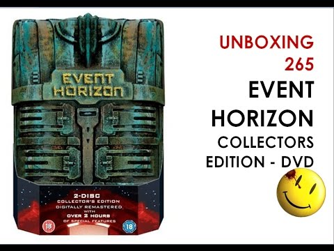 265 Unboxing Event Horizon Dvd Collectors Edition Youtube