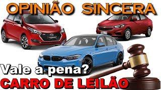 Vale a pena comprar carro de Leilão? Veja tudo o que você precisa saber para não cair numa roubada