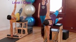 Upside-Down Pilates - Chair  Level I
