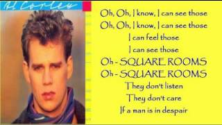 Al Corley - Square Rooms ( + lyrics 1984)