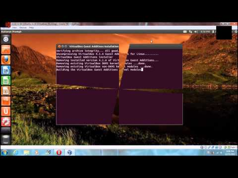 Virtualbox Tutorial: How to share folders from Windows to Ubuntu