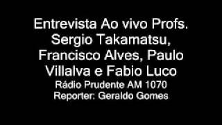[Wadô-Ryu] Entrevista ao vivo a Radio Prudente AM 1070 Professores Sérgio Francisco Paulo e Fábio