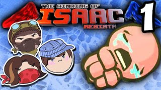 The Binding of Isaac Rebirth: Nightmare Diglets! - PART 1 - Steam Train