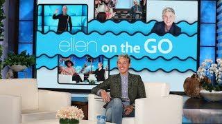 Ellen Announces Her New Podcast, 'Ellen on the Go'!