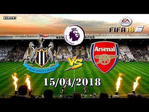 Newcastle United FC v Arsenal FC 15/04/2018