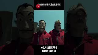 網飛 Netflix 十大影集排行【羅比】 #shorts