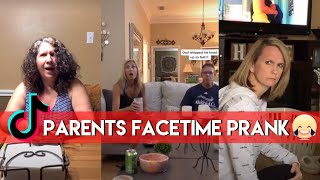 PARENTS FACETIME PRANK TIKTOK | BEST REACTIONS!