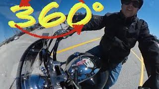 ROLE DE MOTO PELAS ESTRADAS DOS ESTADOS UNIDOS - 360 Graus!