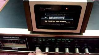 PIONEER H-22 TAPE DECK VINTAGE PLAYING JIMI HENDRIX ESSENTIAL 8-TRACK TAPE