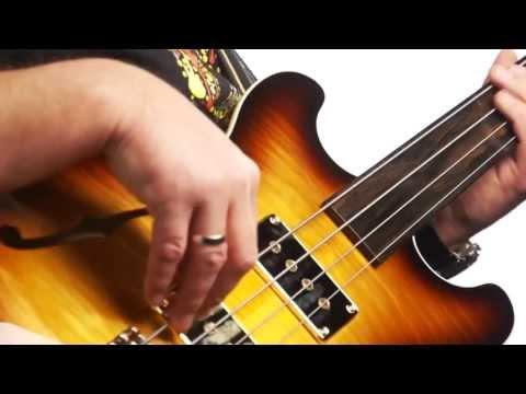 The Warwick Star Bass II - Maple - Fretless