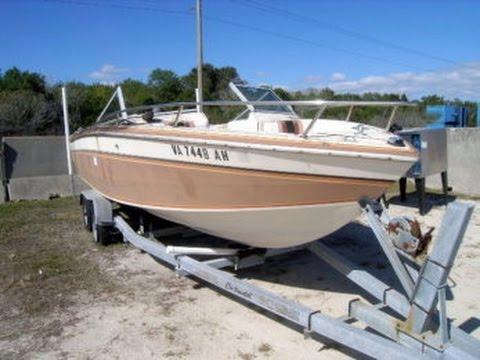 1985 21' Chris Craft Scorpion 210 Fishing Boat on GovLiquidation com