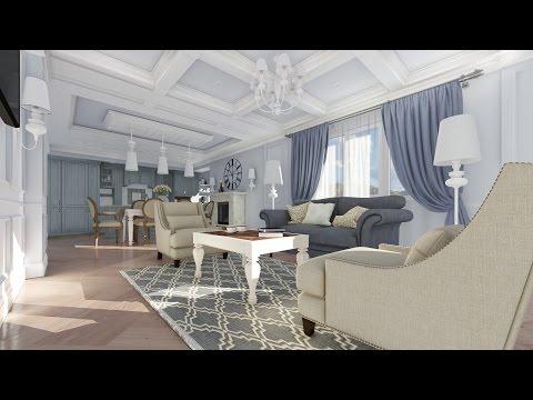 Видео презентация дизайна интерьера квартиры