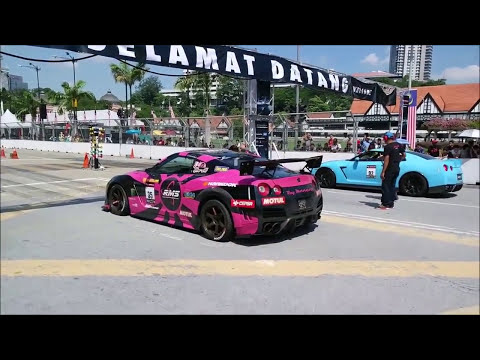Supercars Accelerating And Awesome Engine Sound Drag Race In Malaysia