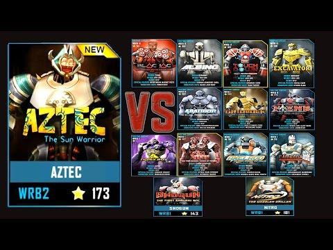 Real Steel WRB FINAL AZTEC ROBOTS Series of fights NEW ROBOT (Живая Сталь)