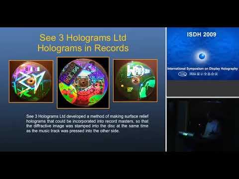 Limited edition prints for Artists: Embossed holograms made from silver halide masters