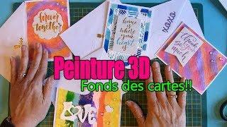 Peinture 3D: Fonds de cartes!