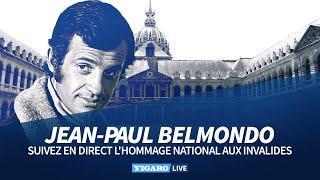 🔴 Revoir l'hommage national à Jean-Paul Belmondo aux Invalides